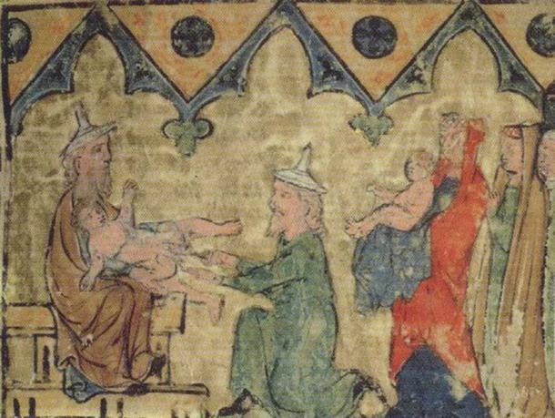 """Isaac's Circumcision."" (Public Domain)"