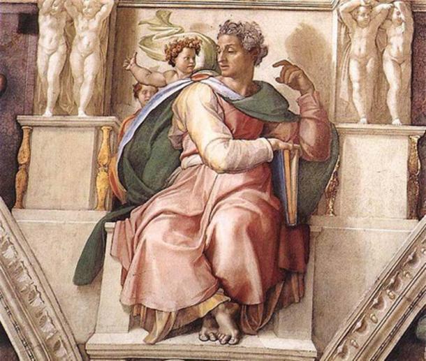 'Isaiah' (1509) by Michelangelo. (Public Domain)