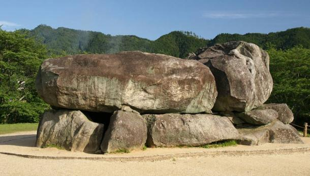 The Ishibutai Kofun, believed to be the tomb of Umako.