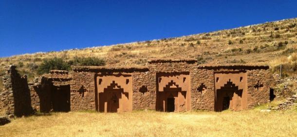 House of the Chosen Virgins of the Sun, Isla de la Luna, Lake Titicaca