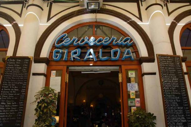 How can you lose an Islamic bathhouse? The incredible structure was uncovered during renovations at Cervecería Giralda. (Cervecería Giralda)