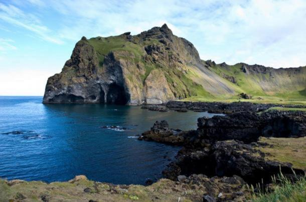 Isle of Heimaey off the coast of Iceland.