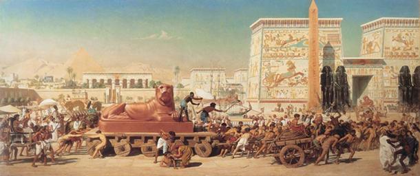Israel in Egypt by Edward Poynter (1867) (Public Domain)