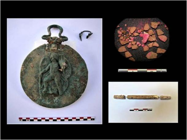 Items found included, gold items, glassware and pottery. (Image: Greek Ministry of Antiquities)