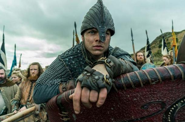 Ivar the Boneless on the battlefield in the History Channel Series 'Vikings.'