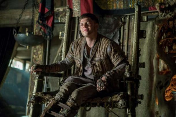 Ivar the Boneless as portrayed in the History Channel Series 'Vikings.'