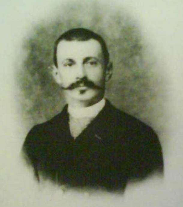Jacques Jean Marie de Morgan, archaeologist, engineer, geologist, director of antiquities in Egypt. (1892)