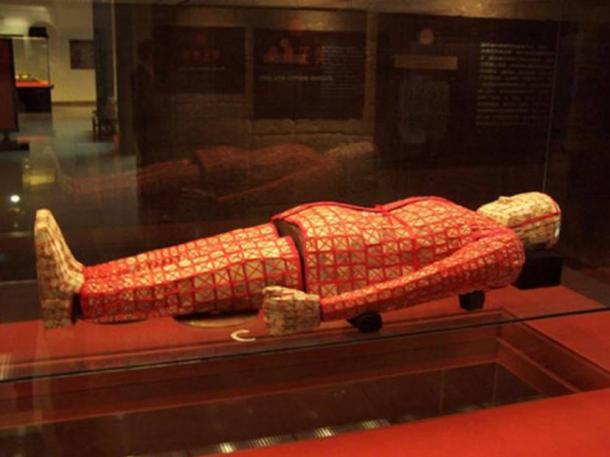 Jade burial suit at the Museum of the Mausoleum of the Nanyue King, in Guangzhou