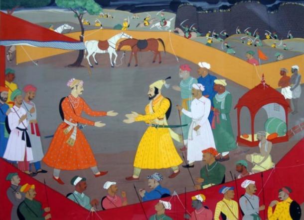 Jai Singh built the Jantar Mantar – his greeting of the emperor earned him the title of 'Sawai'. (Raghu-holkar / CC BY-SA 2.0)