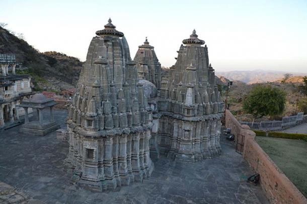 Jain Temple in the Kumbalgarh fortress.