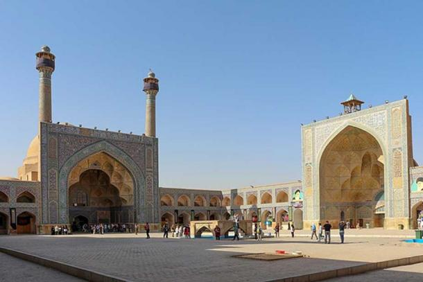 Jameh Mosque of Isfahan, Iran. (Bernard Gagnon/CC BY SA 4.0)