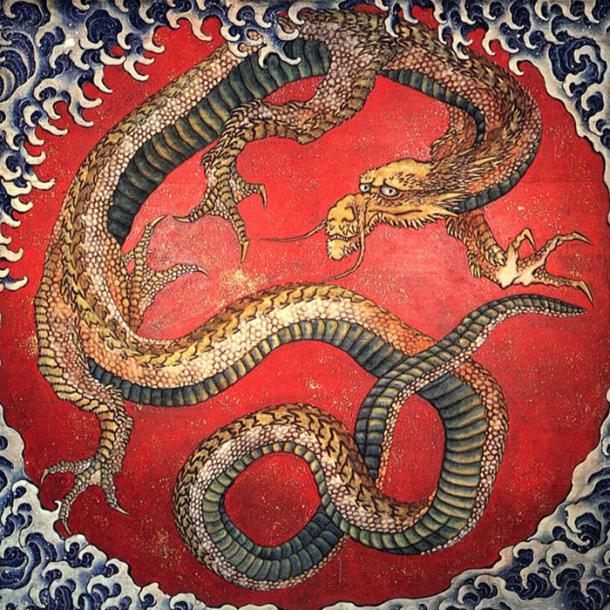 Japanese dragon: Legends may have been inspired by snake sightings
