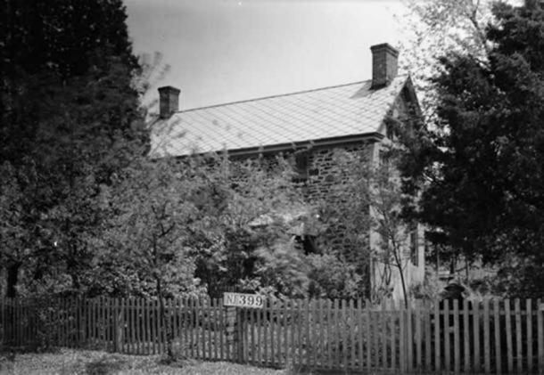 Japhet Leeds House, Moss Mill Road, Leeds Point, Atlantic County, NJ (c.1937). ( Public Domain )