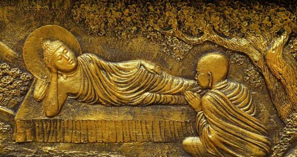 East Javanese relief depicting the Buddha in his final days. (Anandajoti Bhikkhu / CC BY 2.0)