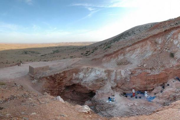 The Jebel Irhoud archaeological site in Morocco.