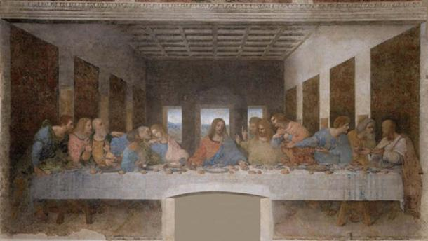 Jesus' garb would have been a far cry from the depiction in da Vinci's The Last Supper.