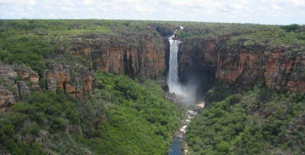 Jim Jim Falls, Kakadu National Park (Malone, N / CC BY-SA 1.0)