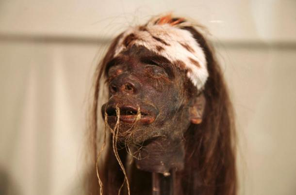 ivaro shrunken head, Buckhorn Saloon in San Antonio, Texas
