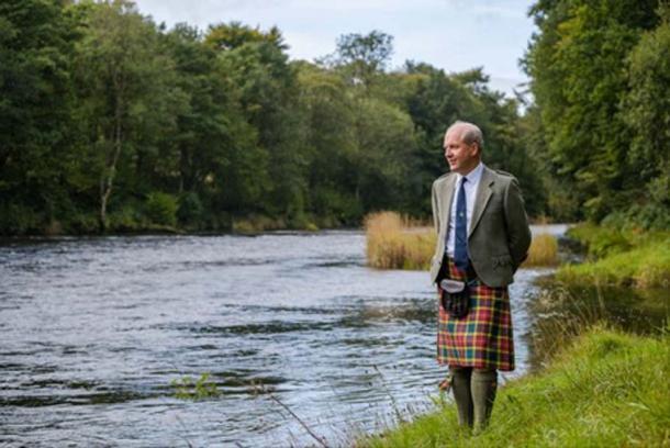 John Michael Baillie-Hamilton Buchanan, the new Chief of Clan Buchanan. Credit: Clan Buchanan.