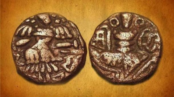 Joint issue coin of Kshema Gupta and Queen Didda. (Live History India)