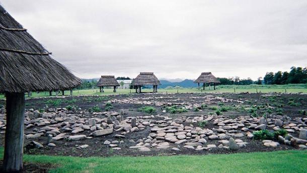 Jomon Oyu Stone Circles, Akita Prefecture, Japan.