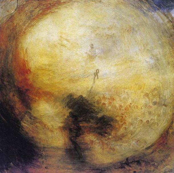 Joseph Mallord William Turner - The Morning after the Deluge
