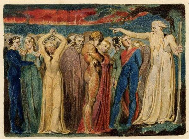 Joseph of Arimathea Preaching to the Inhabitants of Britain.
