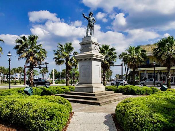 Juan Ponce De Leon Statue - St Augustine, Florida