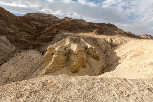 Caves in the Judean Desert where the Dead Sea Scrolls were first discovered