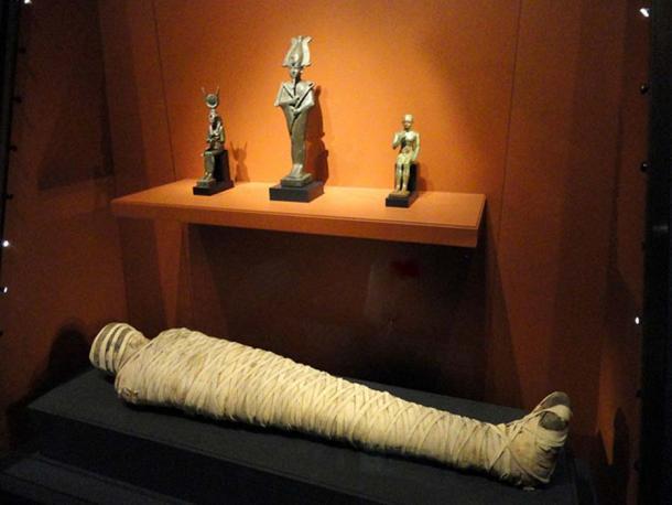 Kai-i-nefer mummy, Egypt, Late Period, 525-332 BCE.