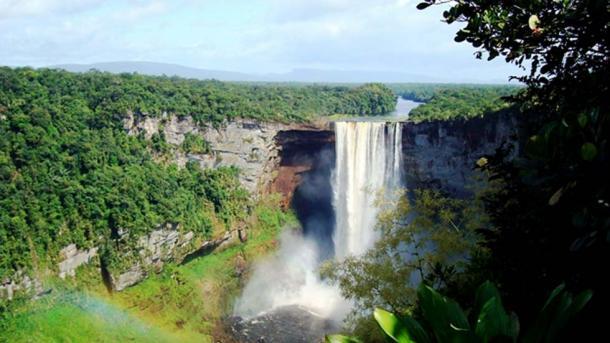 Kaieteur Falls, Guyana. Credit: Defense Institute for Medical Operations