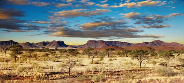 Kalahari Desert, Namibia, Africa. Source: Dmitry Pichugin / Adobe.