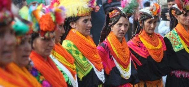 Kalash Valley is situated in District Chitral of province Khyber Pakhtunkhwa, Pakistan.