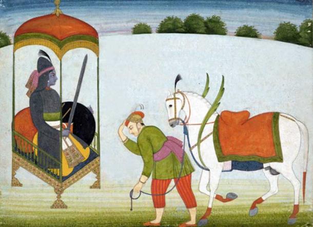 Kalki Avatar Punjab Hills, Guler, c. 1765.