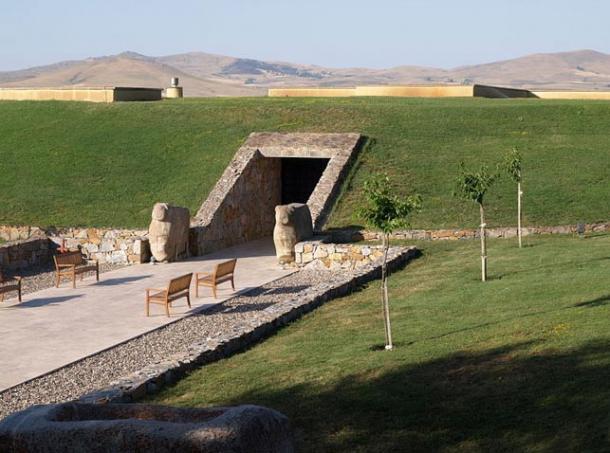 Kaman-Kalehöyük, Turkey (Wikimedia Commons)