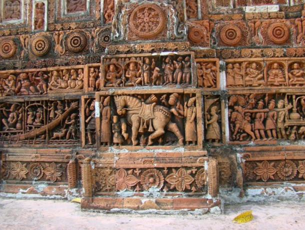 Kantaji Temple in Bangladesh a late Hindu temple that undoubtedly played a role in the ascent of the ancient Indian Bengalis as a primary force in Buddhism which is a branch of Hinduism