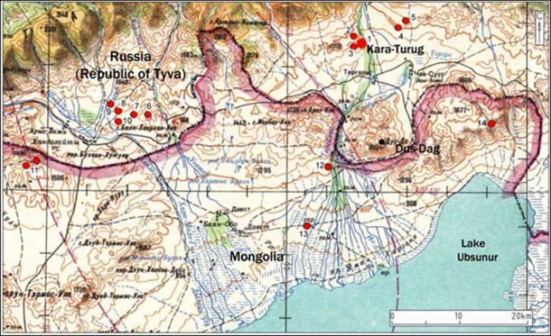 Kara-Turug is located on the border between Russia and Mongolia, in the shore of Ubsunur lake. Picture: Marina Kilunovskaya