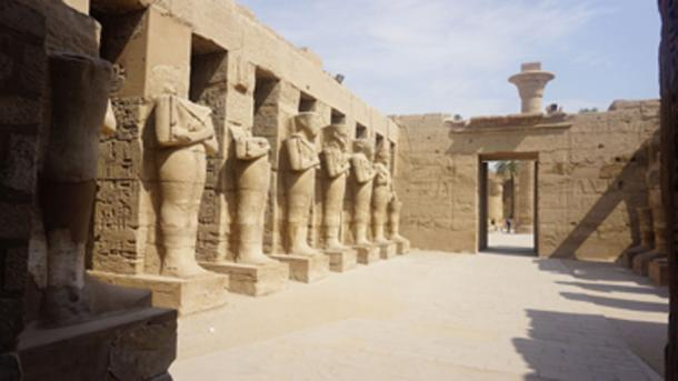 Karnak Temple Complex, site where the Egyptian officials say the King Tut statue was taken from. (Elias Rovielo / CC BY-SA 2.0)
