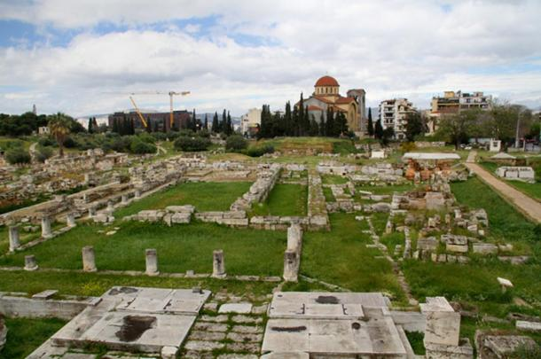 Kerameikos archaeological park, Athens