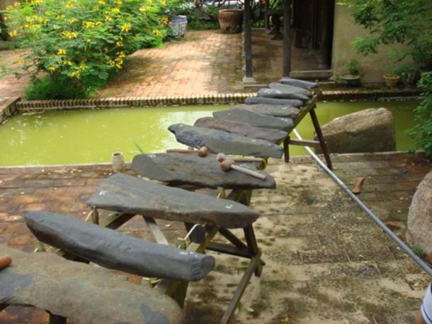 Khanh Son Stone Instrument.