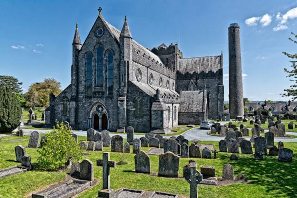 Kilkenny Cathedral, seat of Catholic Bishop 13th century.  (CC BY-SA 2.0)