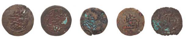 Kilwa sultanate coins. Credit: Powerhouse Museum
