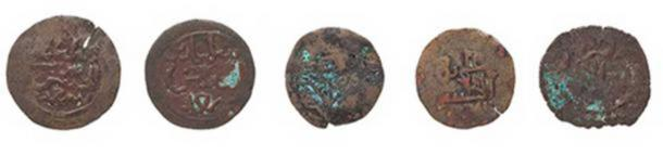 Kilwa sultanate coins. Credit: Powerhouse Museum