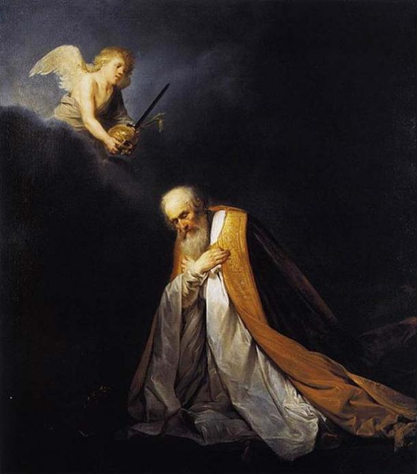 King David in Prayer. (1635-1640) By Pieter de Grebber.