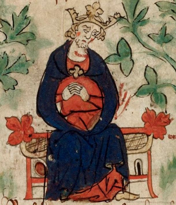 King Henry I mourning the death of his son.