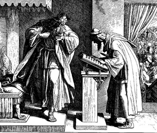 King Josiah by Julius Schnorr von Carolsfeld. (Public Domain)
