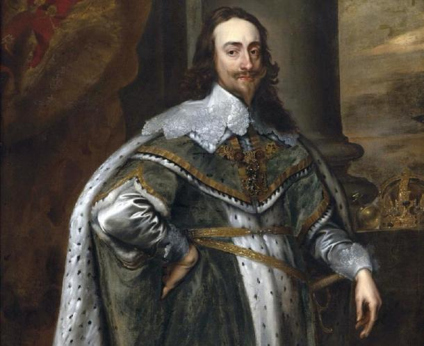King Charles I in his robes of state. (DrKay / Public Domain)