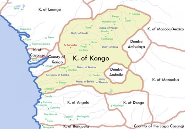 Kingdom of Kongo. (Happenstance / CC BY 2.5)