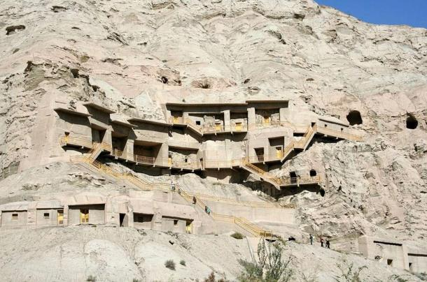 Kizil Caves, earliest Buddhist caves in China, hide rare images from the time of the Silk Route