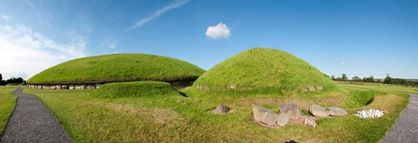 Knowth panorama.